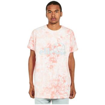textil Herr T-shirts Ellesse T-shirt  Starezzo rose pâle/blanc