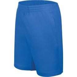 textil Barn Shorts / Bermudas Proact Short enfant Jersey  Sport bleu marine