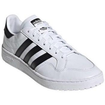 Skor Herr Sneakers adidas Originals Originals Team Court Vit