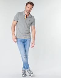 textil Herr Stuprörsjeans Jack & Jones JJILIAM Blå / Ljus