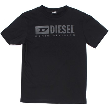 textil Barn T-shirts Diesel Kid 00J4P9 00YI9 Black