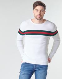 textil Herr Tröjor Casual Attitude MIRANDA Vit