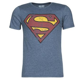 textil Herr T-shirts Casual Attitude SUPERMAN LOGO VINTAGE Marin
