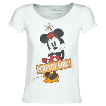 textil Dam T-shirts Moony Mood MINNIE PERFECT GIRL Vit
