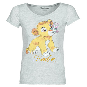 textil Dam T-shirts Moony Mood THE LION KING Grå