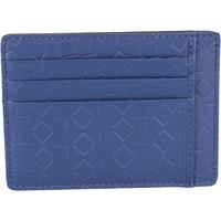 Väskor Herr Plånböcker Alviero Martini portafoglio porta carta di credito ALV blu pelle BN201-S Blu