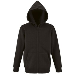 textil Barn Sweatshirts Sols STONE COLORS KIDS Negro