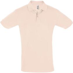 textil Herr Kortärmade pikétröjor Sols PERFECT COLORS MEN Rosa