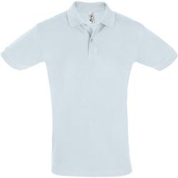 textil Herr Kortärmade pikétröjor Sols PERFECT COLORS MEN Azul