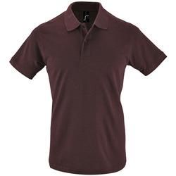 textil Herr Kortärmade pikétröjor Sols PERFECT COLORS MEN Violeta