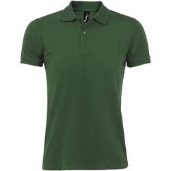 textil Herr Kortärmade pikétröjor Sols PERFECT COLORS MEN Verde