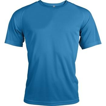 textil Herr T-shirts Proact T-Shirt manches courtes  Sport bleu ciel