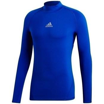 textil Herr Sweatshirts adidas Originals Alphaskin Climawarm Blå