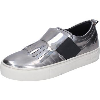 Skor Dam Slip-on-skor Crime London Sneakers BN383 Silver