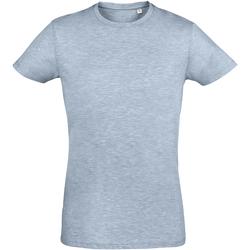 textil Herr T-shirts Sols 10553 Ljungblått himmelsblått