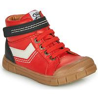 Skor Pojkar Höga sneakers GBB BAO Röd