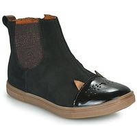Skor Flickor Boots GBB JESSINE Svart