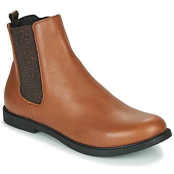 Skor Flickor Boots GBB ARANA Cognac