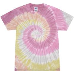 textil Dam T-shirts Colortone Rainbow Ökenrosa