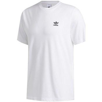 textil Herr T-shirts adidas Originals Trefoil Essential Tee Vit