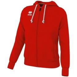textil Herr Sweatjackets Errea Sweatshirt  Wita rouge/blanc