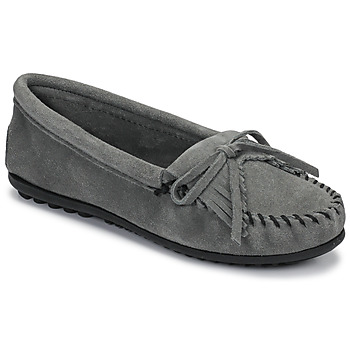 Skor Dam Loafers Minnetonka KILTY Grå