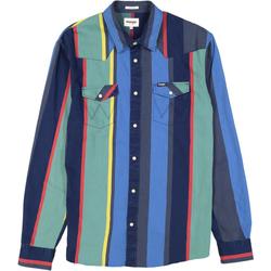 textil Herr Sportoverall Wrangler Chemise  Western 2 Pocket multicolore