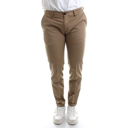 textil Herr Chinos / Carrot jeans Re-hash P249-2389 Beige