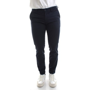 textil Herr Chinos / Carrot jeans Re-hash P249-2389 Blue