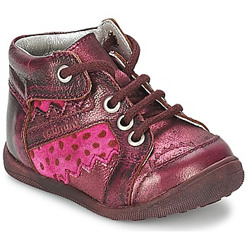 Skor Flickor Boots Catimini CABILLAUD Rosa / Brun