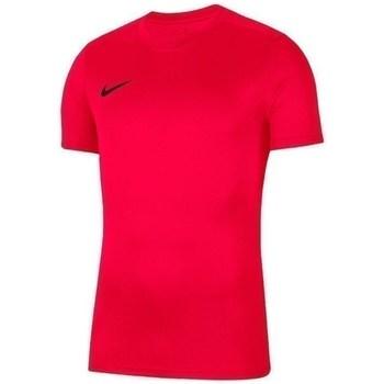 textil Pojkar T-shirts Nike JR Dry Park Vii Röda