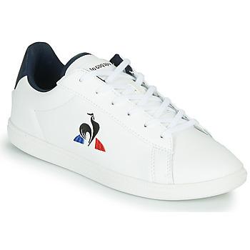 Skor Barn Sneakers Le Coq Sportif COURTSET GS Vit / Blå