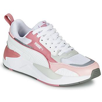 Skor Dam Sneakers Puma X-RAY 2 Vit / Rosa