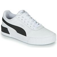 Skor Dam Sneakers Puma CARINA Vit / Svart