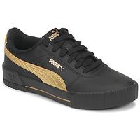 Skor Dam Sneakers Puma CARINA Svart / Guldfärgad