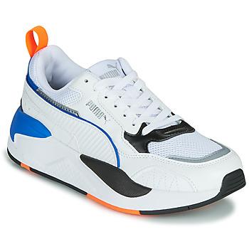 Skor Barn Sneakers Puma X-RAY Vit / Blå / Svart
