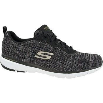 Skor Dam Sneakers Skechers Flex Appeal 30 Svarta