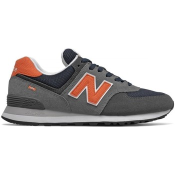 Skor Herr Sneakers New Balance 574 Gråa, Orange