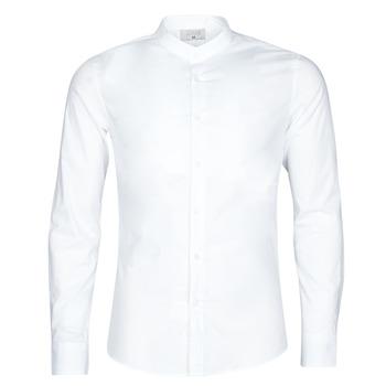 textil Herr Långärmade skjortor Casual Attitude MASS Vit