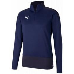 textil Herr Sweatjackets Puma Training top  Teamgoal violet foncé/bleu nuit