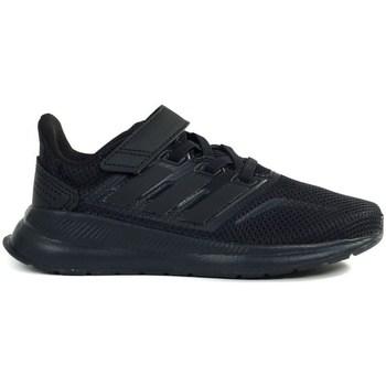 Skor Barn Löparskor adidas Originals Runfalcon C Svarta
