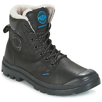 Skor Boots Palladium PAMPA SPORT WPS Svart