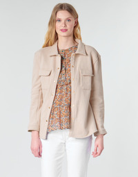 textil Dam Jackor & Kavajer Betty London MOUCHE Beige