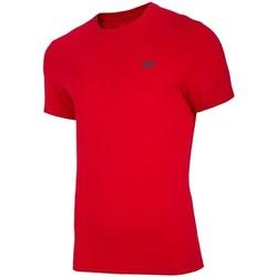 textil Herr T-shirts 4F TSM003 Röda