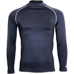 textil Herr Långärmade T-shirts Rhino RH001 Marinblått ljung