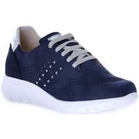 Skor Dam Sneakers Grunland BLU CALL Blu