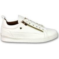 Skor Herr Sneakers Cash Money Herrskor Sneaker CMP White Gold Vit
