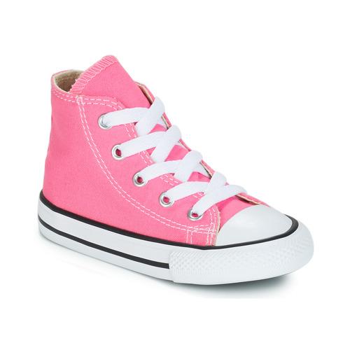 Skor Flickor Höga sneakers Converse CHUCK TAYLOR ALL STAR CORE HI Rosa