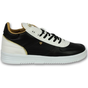 Skor Herr Sneakers Cash Money Skor Sneaker Luxury Black White Svart, Vit