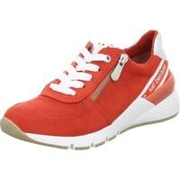 Skor Dam Sneakers Marco Tozzi 222373934621 Röda